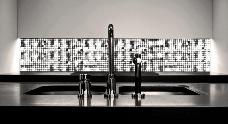küchenbeleuchtung - wandmosaik
