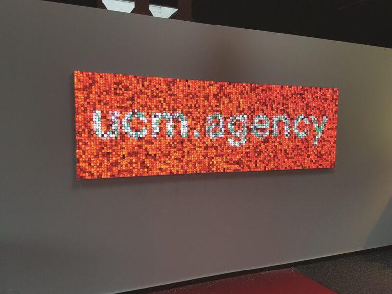 volatiles Glasmosaik - digitale mosaike